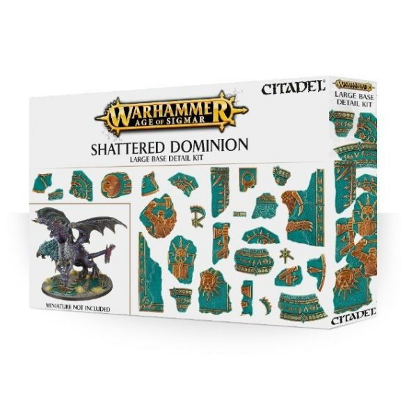 Shattered Dominion Large Base Detail