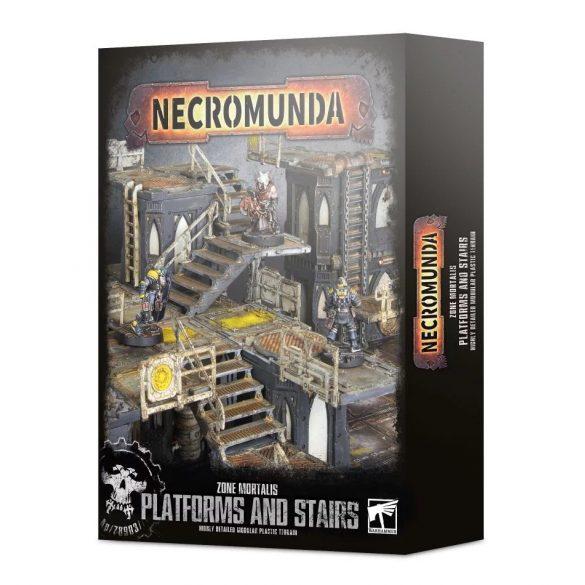 Necromunda Zone Mortalis Platforms and Stairs