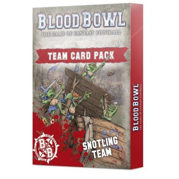 Blood Bowl Snotling Team Card Pack