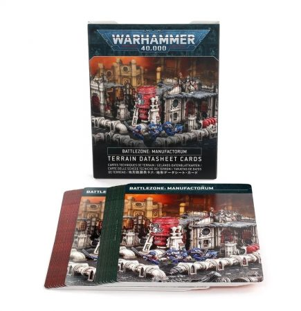 Battlezone: Manufactorum – Terrain Datasheet Cards