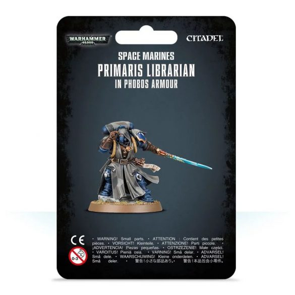 Primaris Librarian in Phobos Armour