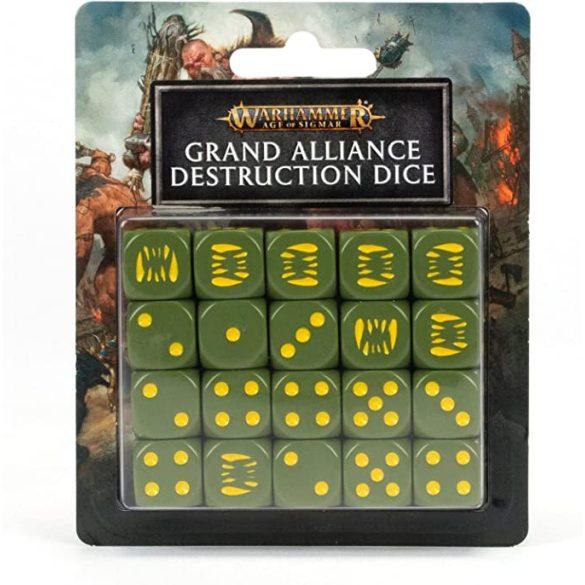 Grand Alliance Destruction Dice