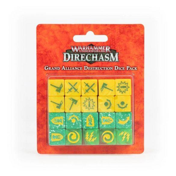 Direchasm Grand Alliance Destruction Dice Pack