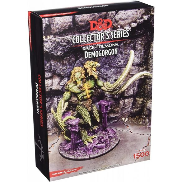 """""""Out of the Abyss"""" Demon Lord Demogorgon (1 fig)"""