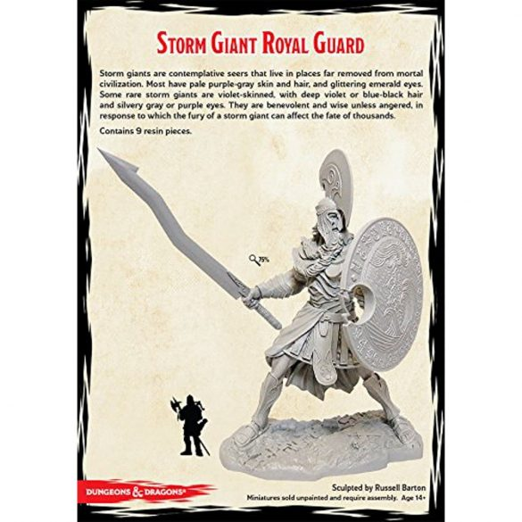 """Storm Kings Thunder"" Storm Giant Royal Guard (1 fig)"