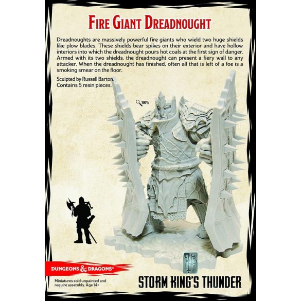"""""""Storm Kings Thunder"""" Fire Giant Dreadnought (1 fig)"""