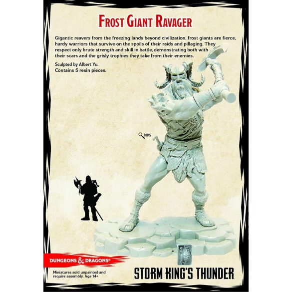 """""""Storm Kings Thunder"""" Frost Giant Ravager (1 fig)"""