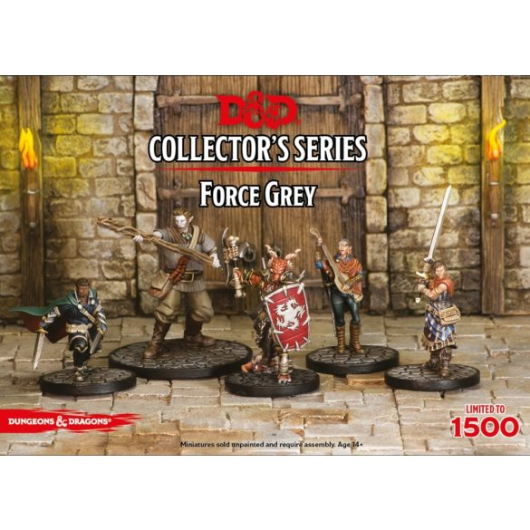 """Force Grey"" (5 figs)"