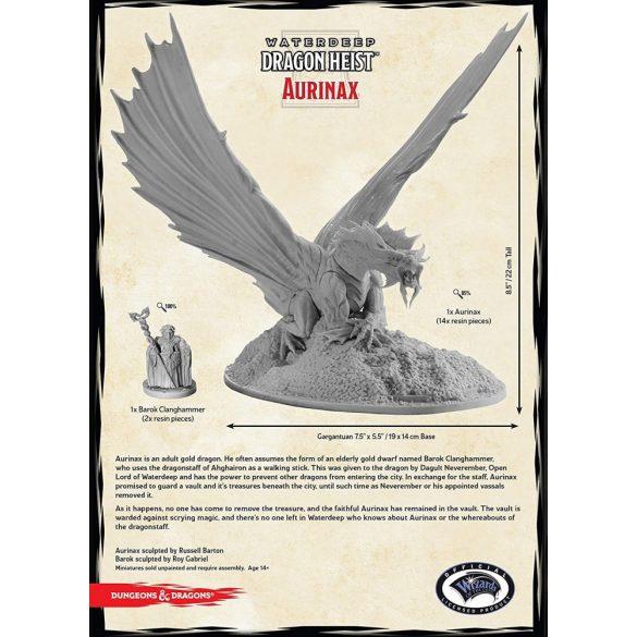 """Waterdeep Dragon Heist"" Aurinax (1 Fig)"