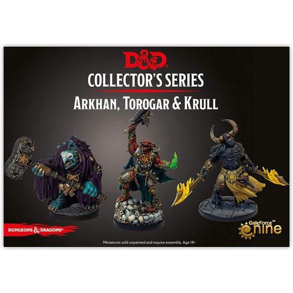 """""""Descent into Avernus"""" - Arkhan, Torogar & Krull (3 figs)"""