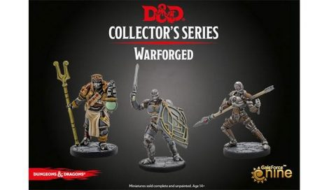 """Eberron"" - Warforged Monk, Wizard & Fighter (3 figs)"