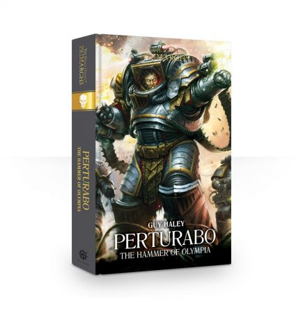 Primarchs: Perturabo The Hammer of Olympia (Hardback)