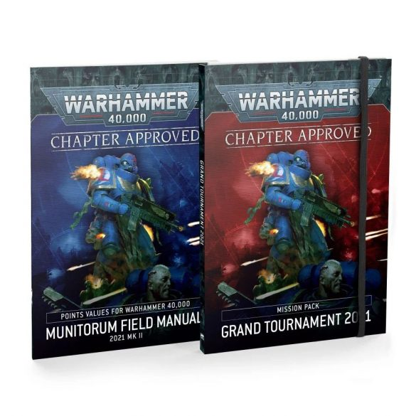 Chapter Approved: Grand Tournament 2021 Mission Pack and Munitorum Field Manual 2021 MkII