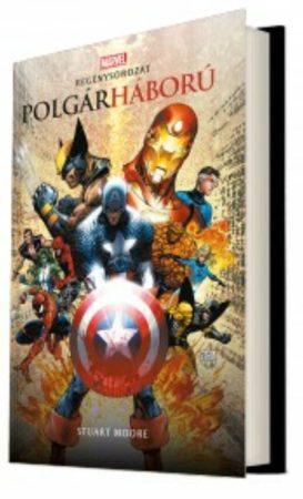 MARVEL regény: Bosszúállók: Polgárháború (keménytáblás)