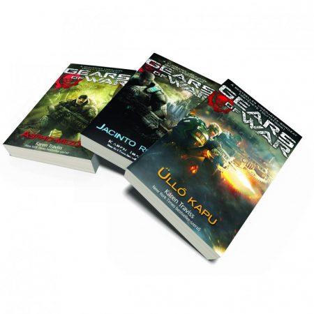 Karácsonyi ajándékötletek - Gears of War könyvcsomag