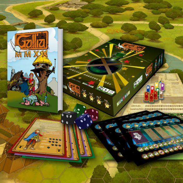 Gallia MMXX szerepjáték dobozos kiadás