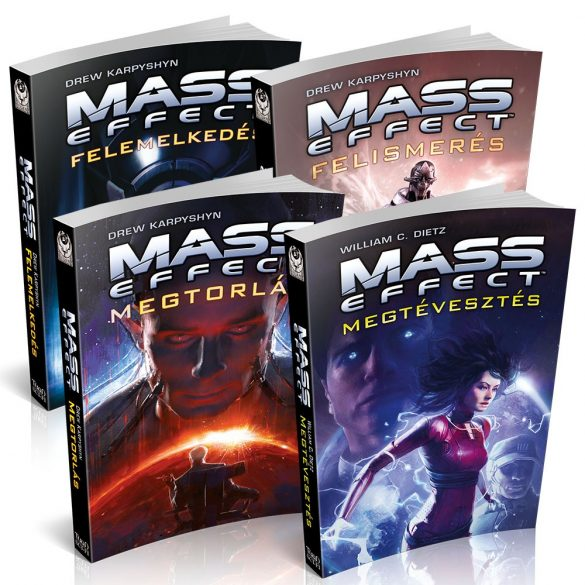 Mass Effect Könyvcsomag