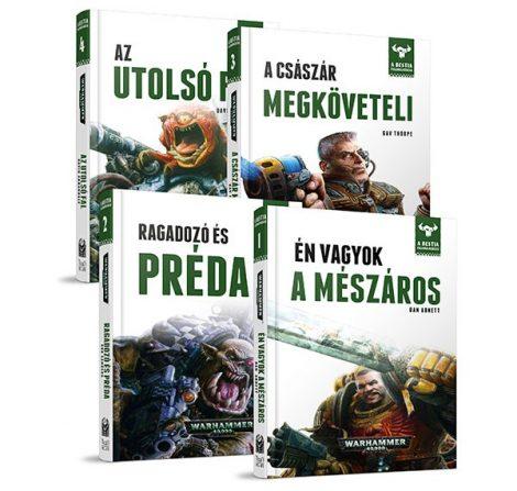 A Bestia felemelkedése könyvcsomag V.