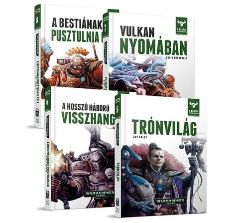 A Bestia könyvcsomag II.