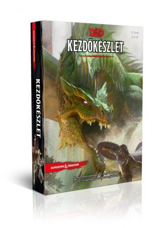 Dungeons and Dragons kezdőkészlet - előrendelés