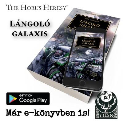 Lángoló galaxis e-könyv