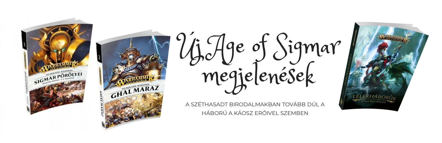 Új Age of Sigmar megjelenések