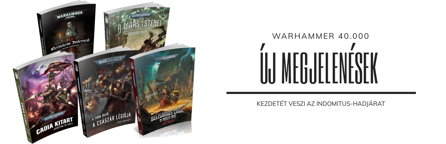 Új Warhammer 40.000 megjelenések